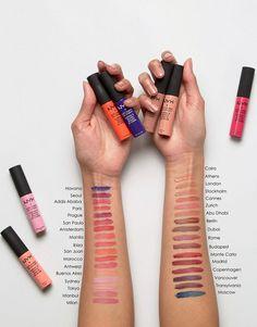 Makeup Ideas: Image 4 NYX Crème à lèvres douce et matte couleurs prague