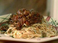 Alice Jo's Spaghetti Sauce - Best spaghetti sauce ever. I make this recipe every time Alex asks for Spaghetti!