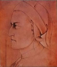 Dante Alighieri, anonymous sketch