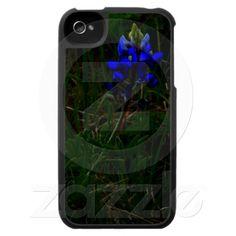 Bluebonnet Glow photo iPhone 4 case