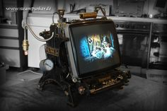 Steampunker - steampunk pc monitor by ~steamworker