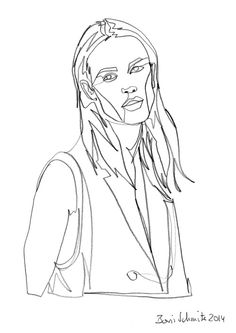 Boris Schmitz Portfolio Scribble Art, Minimalist Artwork, Pop Art Wallpaper, Continuous Line Drawing, Human Drawing, Face Sketch, Black White Art, Wire Art, Cartoon Drawings
