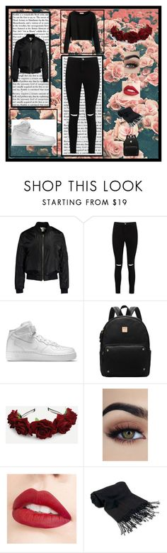 """""""Thinking of wearing this monday"""" by killerbarbiexoxo-123 on Polyvore featuring Sans Souci, Boohoo, NIKE, Jouer and Forzieri"""