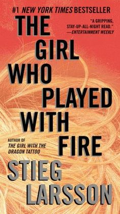 All about The Girl Who Played with Fire: Book 2 of the Millennium Trilogy (Vintage Crime/Black Lizard) by Stieg Larsson. LibraryThing is a cataloging and social networking site for booklovers Fire Book, Up Book, Reading Lists, Book Lists, Reading 2014, I Love Books, Books To Read, Lisbeth Salander, Crime