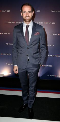 Tommy Hilfiger invited to the Flagship Store Opening event in Dusseldorf - Christoph Metzelder