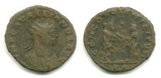 ROMAN EMPIRE – Aurelian (270-275 AD) AE Antoninianus MUCH NICER IN HAND! RIC 215 Price : $28.00 Ends on : 6 days Order Now