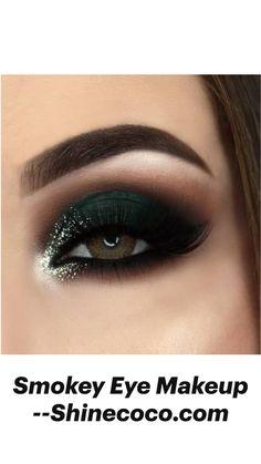 Makeup Looks For Brown Eyes, Makeup Eye Looks, Beautiful Eye Makeup, Eye Makeup Art, Smokey Eye Makeup, Eyeshadow Makeup, Smoky Eye, Makeup Geek, Wedding Eye Makeup