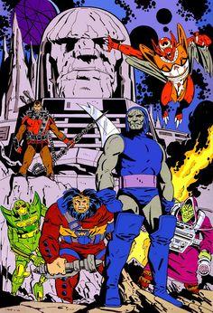 Calendario DC Comics de Jose Luís García-López (1988)