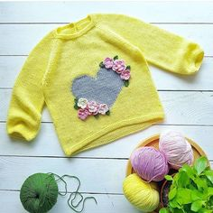 """""""Hand knit baby vest /ca Knitting For Kids, Crochet For Kids, Baby Knitting Patterns, Knitting Socks, Hand Knitting, Cardigan Bebe, Baby Cardigan, Baby Boy Outfits, Kids Outfits"""