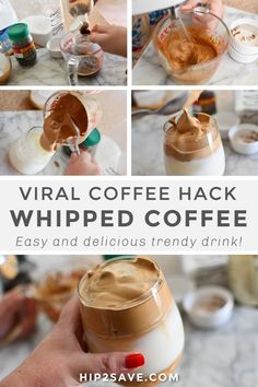 Heres the Viral Whipped Instant Coffee Hack Everyones Trying! - Heres the Viral Whipped Instant Coffee Hack Everyones Trying! Coffee Drink Recipes, Dessert Recipes, Desserts, Healthy Coffee Drinks, Iced Coffee Drinks, Iced Coffee At Home, Instant Iced Coffee Recipe, Coffee Coffee, Iced Coffee Latte Recipe