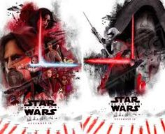 """Potential """"Star Wars: The Last Jedi"""" Concept Poster Seems To Imply That Someone Has Turned To The Dark Side Streaming Movies, Hd Movies, Star Wars Watch, The Phantom Menace, Star Wars Poster, Last Jedi, For Stars, News Today, Dark Side"""