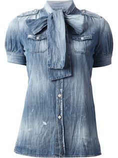 DSQUARED2 Blusa Azul