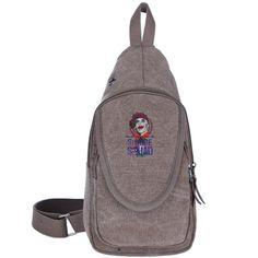 Crazy Cool Casual Canvas Unbalance Backpack Sling Bag Shoulder Bag Chest  Bag For Men   Women-suicide Squad Joker Logo - Backpacks Everyday Sale! c962164a211b9
