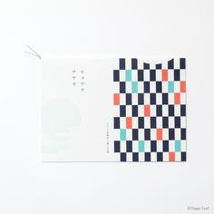 和コレクション招待状 タイヨウトツキ 藍色写真02