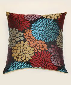 Look what I found on #zulily! Red & Blue Rapture Throw Pillow by Brentwood Originals #zulilyfinds