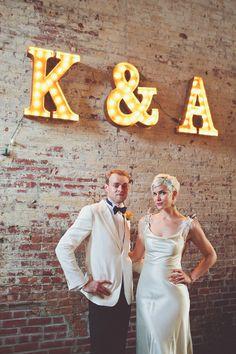 A 1920′s Vintage and Speakeasy Inspired Wedding in Brooklyn | Love My Dress® UK Wedding Blog