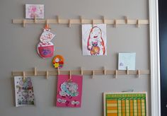 Made these for my daughter's bedroom but I think longer ones would be great for project craft room!
