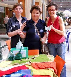 La beneficenza dei Folletti Laboriosi: Consegna lavori a Cuore di Maglia! 2011