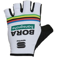 BORA-hansgrohe Road World Champion 2018 short finger gloves