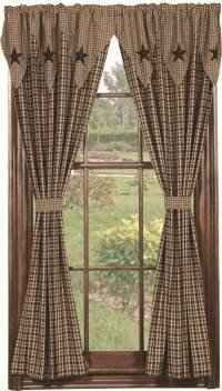 Featuring a huge selection of Primitive Country Curtains, this page is dedicated to primitive decor for your windows for every room of your house!    When...