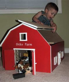 Free Wood Toy Barn Plans | ... com hip roof toy barn our ...
