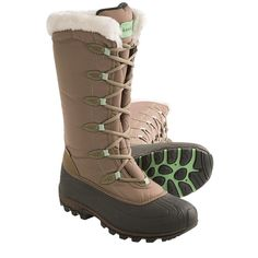 $145 KAMIK WOMENS 9-10 ENCORE LACE UP PAC WINTER TALL INSULATED SNOW BOOTS #Kamik #SNOWWINTER