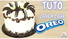 New cake oreo recette ideas Layer Cake Oreo, Chocolate Oreo Cake, Chocolate Recipes, Cake Pops Recipe From Scratch, Cake Pops Recipe Video, Patisserie Design, Cakes To Make, Cake Pops How To Make, Cake Mix Muffins