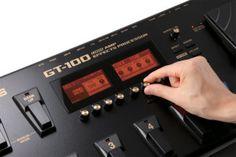 Boss GT-100 Dual screens