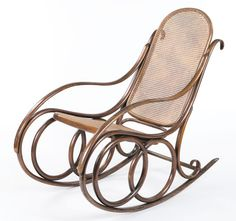 Victor Horta; Rocking Chair