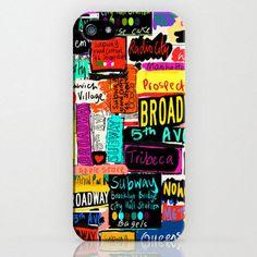 New York style, Iphone 5 case, Hard Plastic, FREE Shipping Worldwide