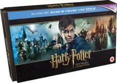 #Harry potter  hogwarts collection  31 disc  #blu-ray/dvd/uv box set  #brand new,  View more on the LINK: http://www.zeppy.io/product/gb/2/232000789988/