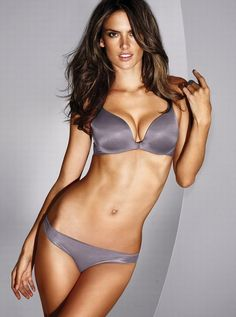 Ale, VS Fabulous, and the perfect steel color. #Alessandra Ambrosio
