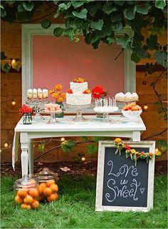 Dessert Table klingt eigentlich sehr gut :-)