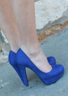 Peep Toe Azul Turquesa Python Tam. 38