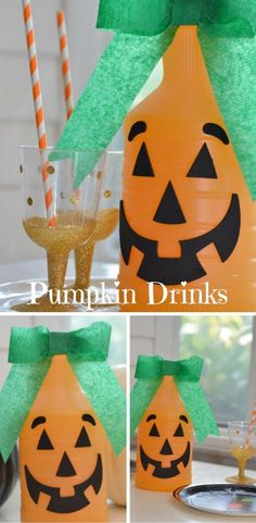 Pumpkin Drinks by Ha