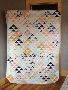 Pattern::HST overload by Red Pepper Quilts Fabric::Arizona by April Rhodes