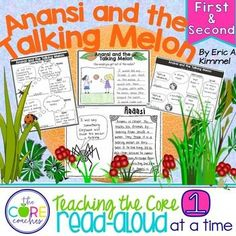 Anansi and the Talking Melon: Interactive Read-Aloud Lesson Plans and Activities