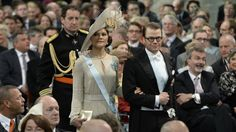 Crown Princess Victoria and Prince Daniel attend the inauguration ceremony  in Holland 4/30/2013