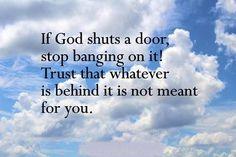 Trust God No-matter What