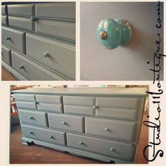 "There is no ""chill"" in our game!  Another great piece in French Grey.  Available in store now!  #milkpaint #furniture #redo"