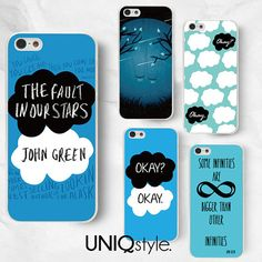 #TFIOS The Fault in Our Stars phone case John Green case by Uniqstyle, $9.99