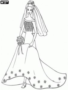 Desenhos Para Colorir e Pintar Online Grátis – Barbie e Imprimir
