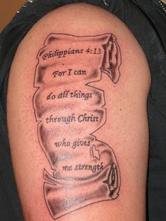 """For I can do all things through Christ who is my strength."" Phillipians 4:13"