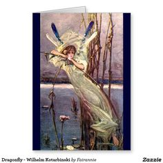 Dragonfly - Wilhelm Kotarbinski Born 30 Nov 1849 in Nieborów Poland died 04 Sept 1921 in Kiev, Ukraine. The years 1867-1872 he studied in Warsaw, under the direction of Raphael Hadziewicz. From 1872 to 1888 he continued his studies in Rome and lived in Italy. After 1888 he settled in Belarus where he did paintings and murals for local churches. In Kiev he collaborated with Viktor Wasniecowem to create murals in the council of St. Vladimir. He made Bible illustrations & scenes of Ancient…