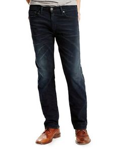 Levi'S 513 Slim Straight Fit Jeans Men's Scorpius 34X32