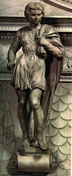 Michelangelo - San Procolo - basilica di San Domenico a Bologna. Miguel Angel, Italian Renaissance, Renaissance Art, Michelangelo Sculpture, Sistine Chapel Ceiling, Italian Sculptors, John William Waterhouse, Renaissance Paintings, Western Art