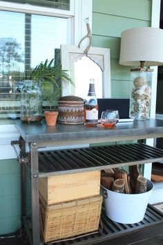 bar cart  for deck - online @ Lowes