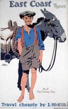 EAST COAST Types No.6, The Donkey Boy LNER 1923-1947, Frank Newbould
