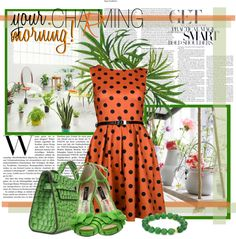 """your morning!"" by nanika777 ❤ liked on Polyvore"