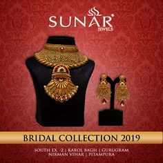 Cherish Your Dream Moment Life Long... A Wide Range of Jewellery Collection for Daily & Office Wear #Sunar #SunarJewelsIndia #sunarsale #exhibition #Jewelry #Diamonds #TrendingJewellery #offer #ExclusiveJewellery #JewelleryCollection #bridalcollection2019